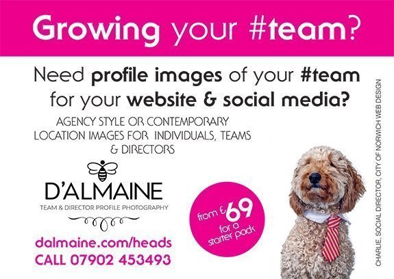 growing your team website and social media photography